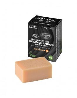 Sampon solid pentru barbati 40 g, Balade en Provence