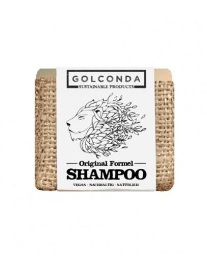 Sampon solid formula originala cu ulei de cocos 65 g, Golconda