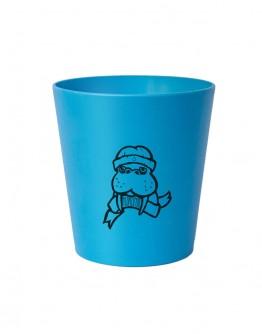 Pahar bio albastru pentru periuta de dinti copii, Hydrophil