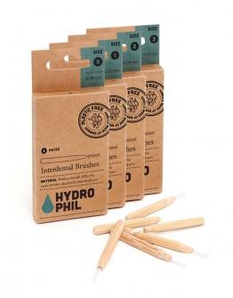 Periuta interdentara din bambus, Hydrophil