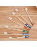 Periuta de dinti din bambus medium-soft Verde, Hydrophil