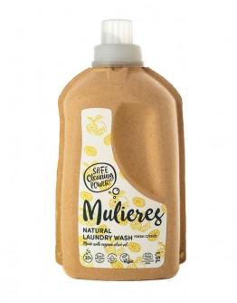Detergent natural de rufe Fresh Citrus 1.5 L, Mulieres