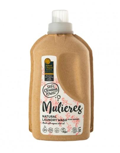 Detergent natural de rufe Rose Garden 1.5 L, Mulieres