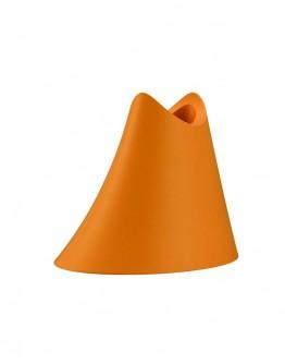 Suport portocaliu pentru periuta de dinti, Promis