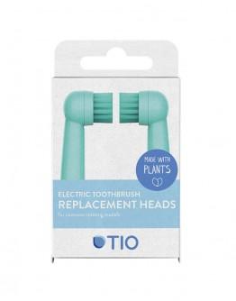 Capete pentru periuta electrica Oral-B (Albastru - Roz), Tio