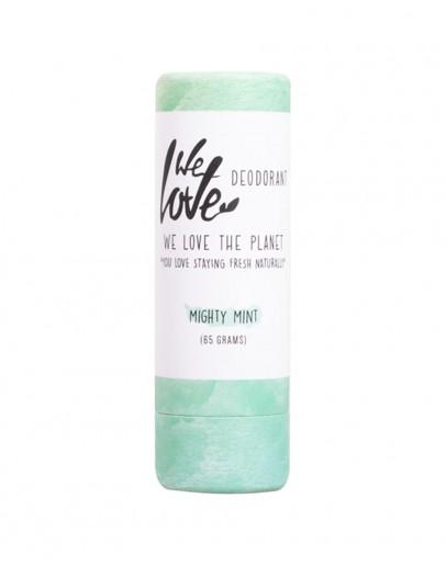 Deodorant natural cu menta Mighty Mint 65 g, WLTP