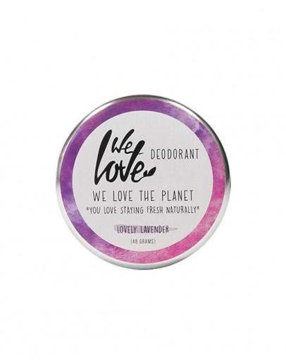 Deodorant natural cu lavanda Lovely Lavender 48 g, We Love The Planet