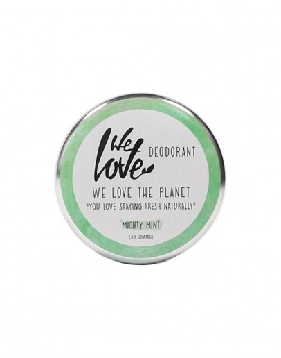 Deodorant natural cu menta Mighty Mint 48 g, We Love The Planet